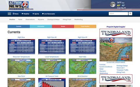Screenshot of Maps & Directions Page wbay.com - Maps & Information - captured Sept. 23, 2018