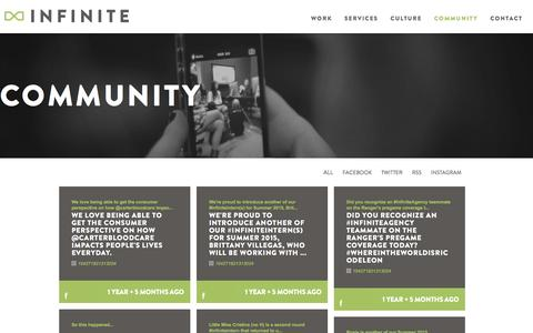 Community | Why Infinite Is The Best Place To Work In Dallas