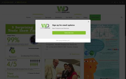Screenshot of Blog wordendisplays.com - Blog | Worden Displays - captured June 14, 2017