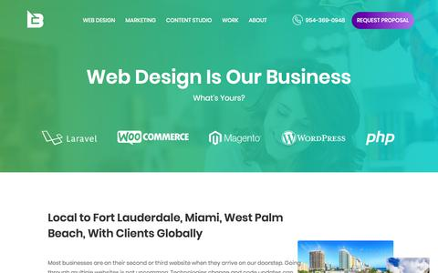 Web Design - Fort Lauderdale Based Web Design Firm