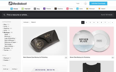 Resources From Mockups — Medialoot