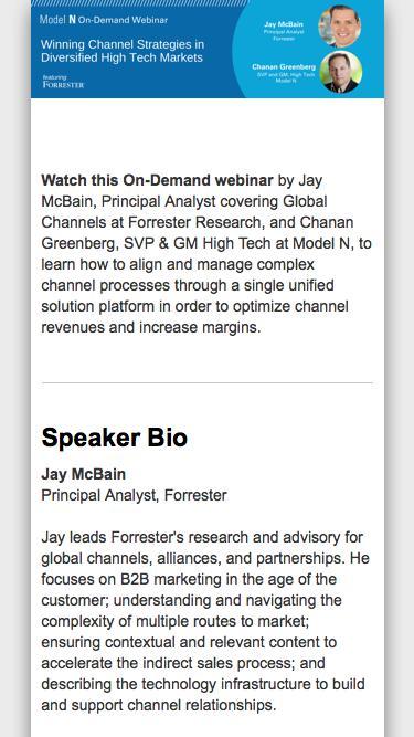 [On-Demand Webinar] Winning Channel Strategies in Diversified High Tech Markets