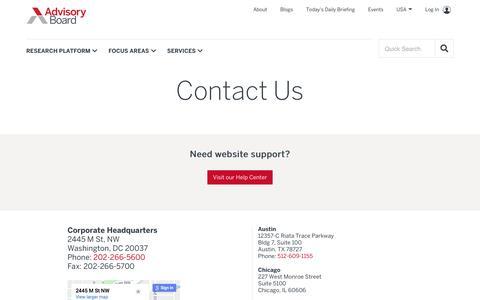 Contact us   Advisory Board