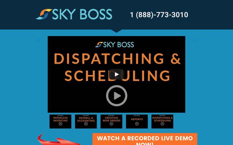 Plumbing Dispatch Software