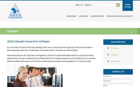 Careers - agia.com