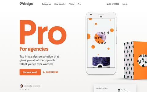 Pro Design Services For Agencies   99designs