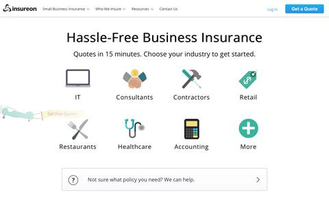 Compare Business Insurance Quotes Online | Insureon
