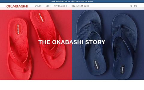 Screenshot of About Page okabashi.com - About Us | Okabashi Shoes | Made in the USA since 1984 - captured Dec. 16, 2018
