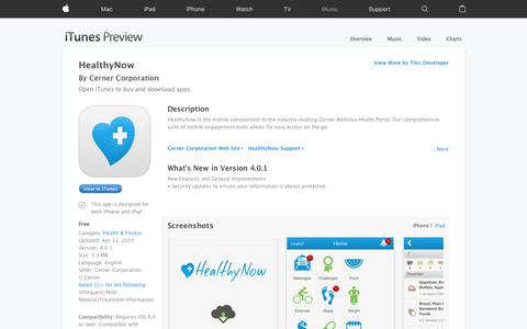 HealthyNow on the App Store
