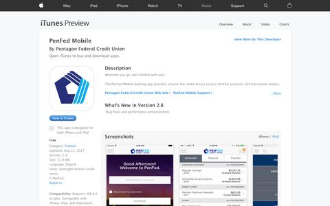 PenFed Mobile on the App Store