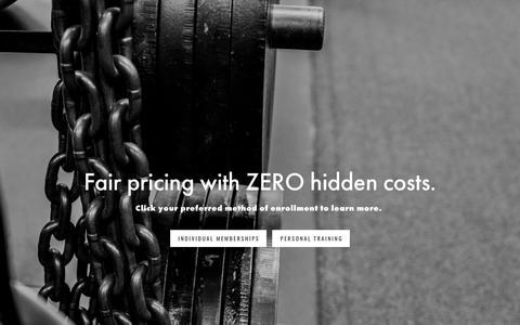 Screenshot of Signup Page bearessentialsfitness.com - Join — Bear Essentials Fitness - captured Oct. 10, 2017