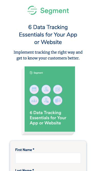6 Data Tracking Essentials for your App or Website| Segment