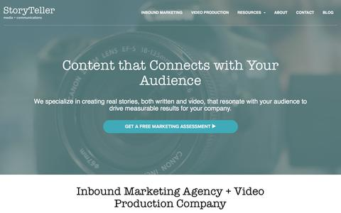 Inbound Marketing Agency + Video Production Company