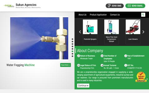 Screenshot of Home Page highpressurepumps.in - Agricultural Equipments,Industrial Pumps,Precision Agricultural Equipments,Industrial Water Pumps - captured May 29, 2019
