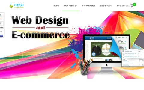 Screenshot of Home Page Team Page fresh-it-solutions.co.uk - Web Design, Development, and E-Commerce | Fresh IT Solutions UK - captured Sept. 30, 2014