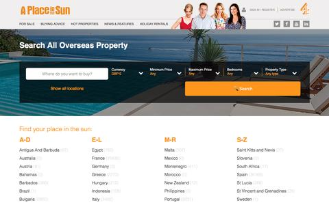 Search All Overseas Property for Sale
