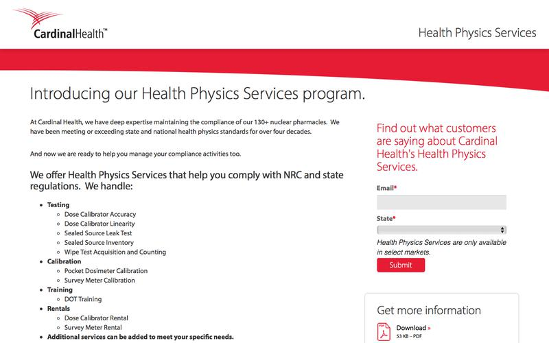 Health Physics Services