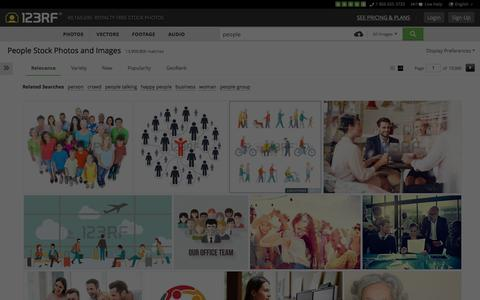 Screenshot of Team Page 123rf.com - People Stock Photos, Pictures, Royalty Free People Images And Stock Photography - captured Dec. 12, 2015