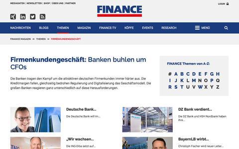 Firmenkundengeschäft-FINANCE Magazin
