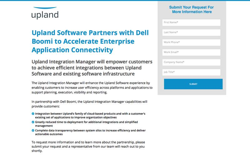 Upland Dell Partnership Announcement