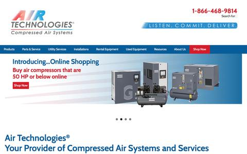 Air Technologies® | Atlas Copco Air Compressor Distributor