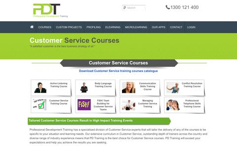 Courses in Customer Service Category | PD Training