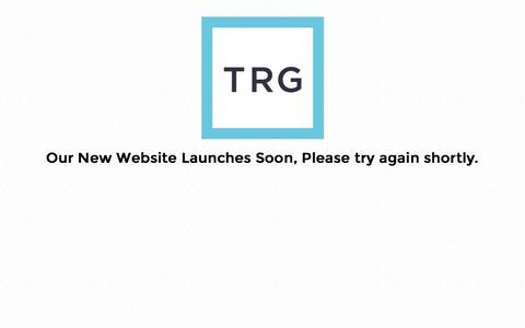 Screenshot of Signup Page trg.org.uk - TRG - captured Feb. 18, 2016