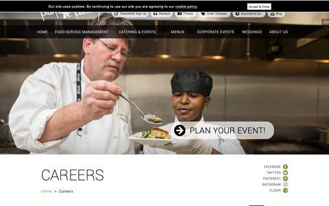 Screenshot of Jobs Page proofpudding.com - Atlanta Catering Company-Careers - captured Feb. 13, 2019