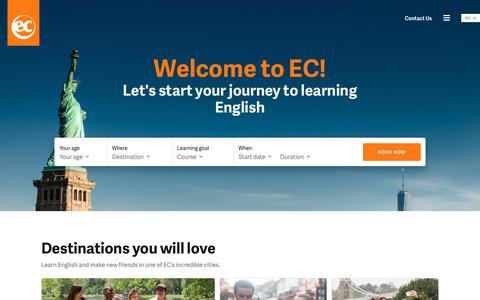 EC English - learn English in exciting cities around the world