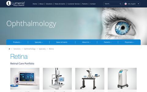 Retinal Laser, Retina Surgery | Lumenis