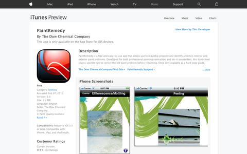 PaintRemedy on the App Store