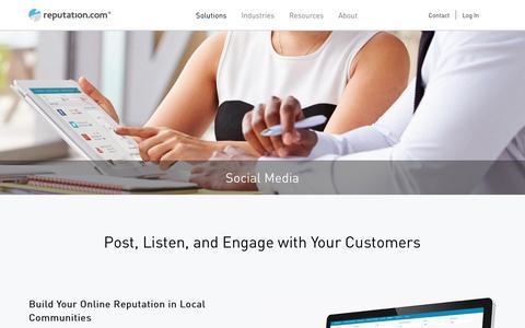 Social Media Dashboard, Sentiment Analysis Tool | Reputation