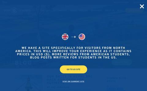 Screenshot of Blog worktheworld.co.uk - Blog | Work the World - captured Aug. 16, 2015
