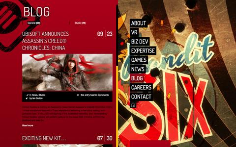 Screenshot of Blog climaxstudios.com - Climax Studios |   Blog - captured Oct. 3, 2014