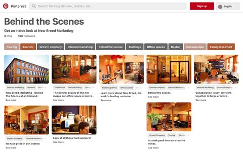 8 best Behind the Scenes images on Pinterest | Touring, Tourism and Growth company
