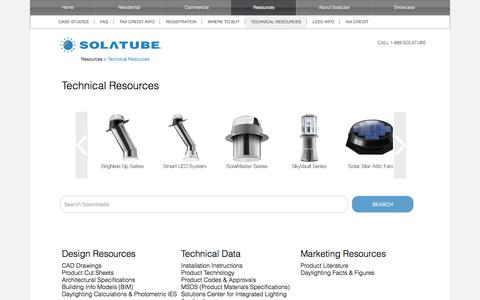 Technical Resources | Solatube