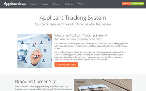 Applicant Tracking System | ApplicantPro