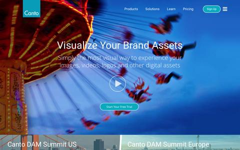 Canto - The Leader in Digital Asset Management Solutions
