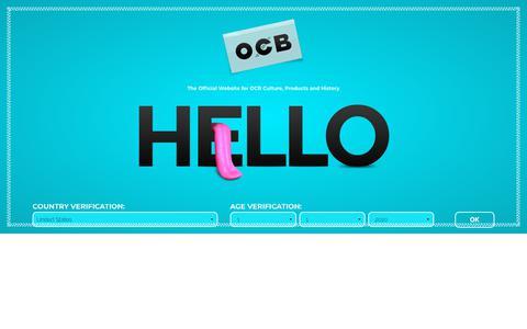 Screenshot of Terms Page ocb.net - OCB - captured Nov. 27, 2018