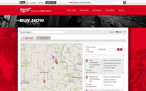 Buy Now | Milwaukee Tool