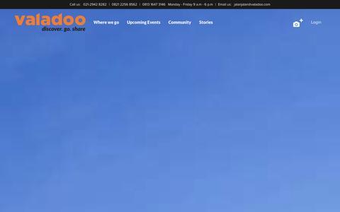 Screenshot of Home Page burufly.com - Discover. Go. Share | Valadoo.com - captured Sept. 23, 2014