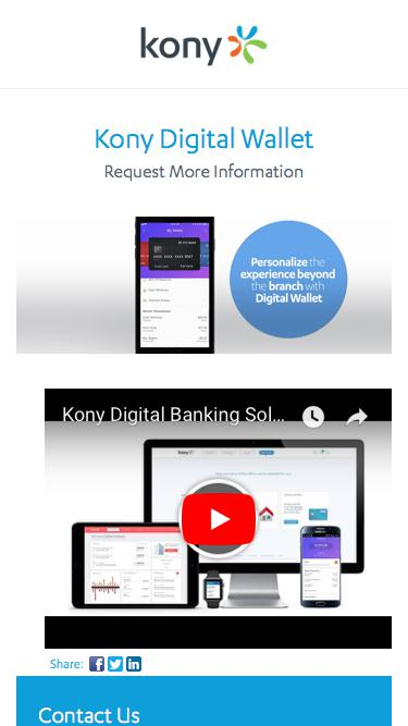 Kony   Kony Digital Wallet