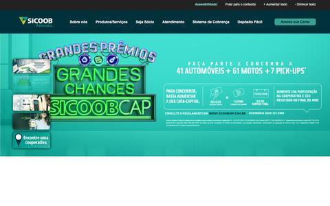 Screenshot of Home Page sicoobadvocacia.com.br - Sicoob Advocacia - Santa Catarina - captured May 2, 2017