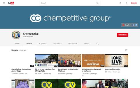 Chempetitive - YouTube