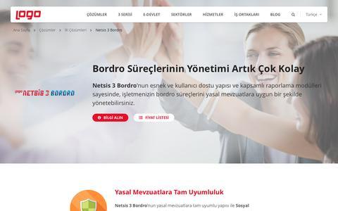 Netsis 3 Bordro | İnsan Kaynakları (İK) Çözümleri | Logo