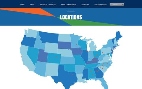 Screenshot of Locations Page bellwetherenterprise.com - Bellwether Enterprise A Commercial & Mortgage Banking Company   LOCATIONS - captured Nov. 22, 2016
