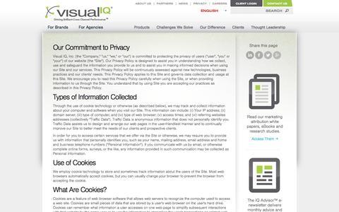 Privacy - Visual IQ