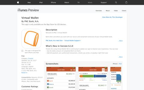 Virtual Wallet on the App Store