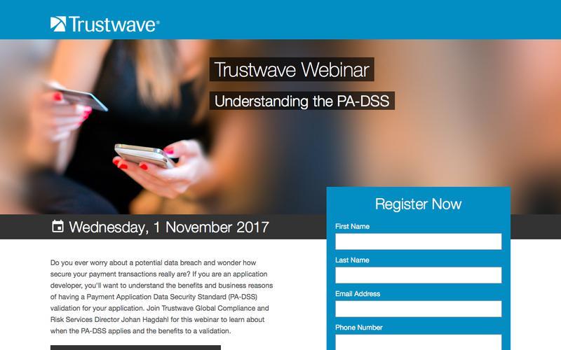 Trustwave Webinar