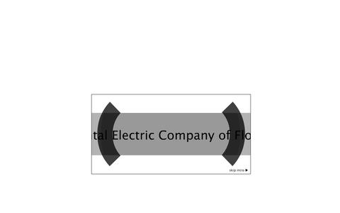 Screenshot of Home Page continentalelectricinc.com - Continental Electric Co. of FL, Inc. - captured Oct. 3, 2014